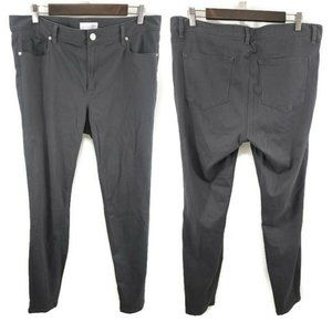 Ann Taylor Loft Soft Gray Skinny Pants